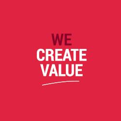 We Create Value
