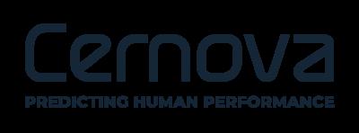 Cernova transparent logo predicting human performance
